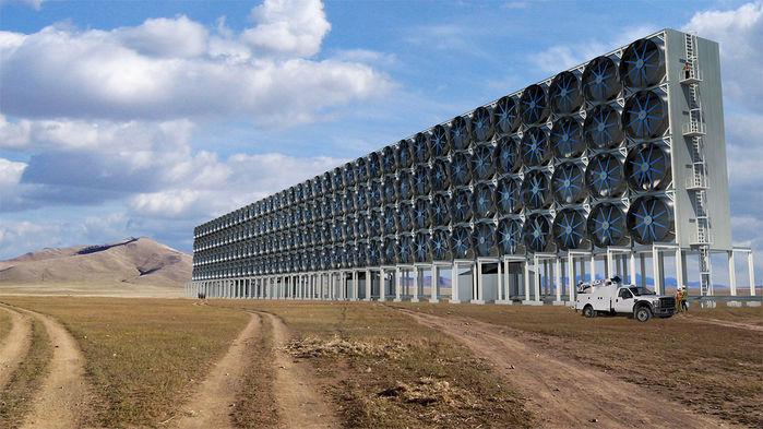 Eine CO₂-Verwertungsanlage von Carbon Engineering*